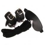 Набор садо-мазо: маска, наручники, веревка